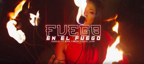 Fuego En El Fuego – Darkiel Ft. Myke Towers, Noriel, Juhn